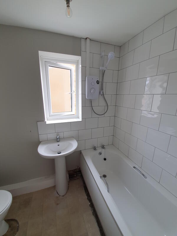 Bathroom and Kitchen Tiled in Hucknall