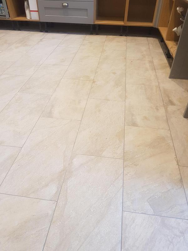 floor tiled in Kirkby