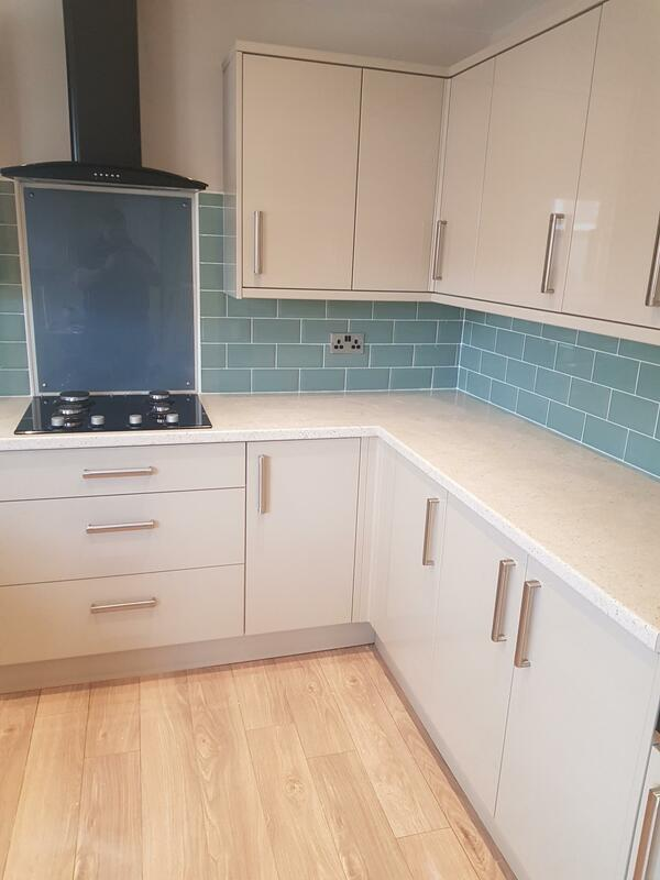 Kitchen Tiling in Selston
