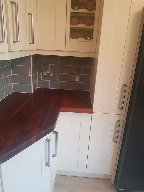 Kitchen Tiling Revamp in Kirkby-in-Ashfield