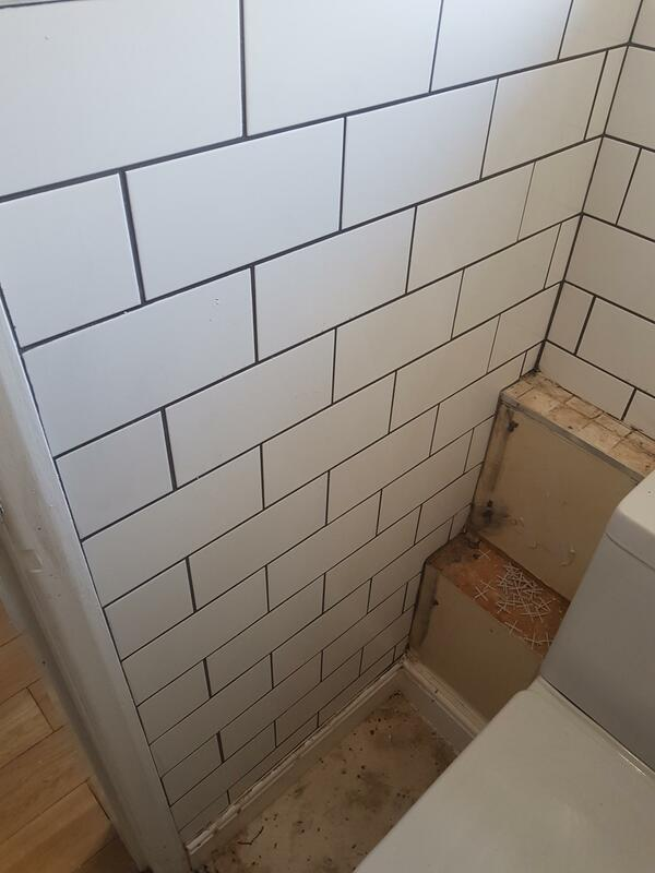 Toilet Wall and Floor Tiling Derby